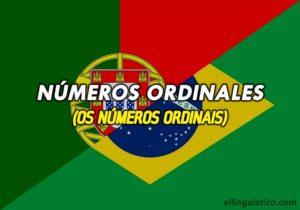 Los Números Ordinales en Portugués