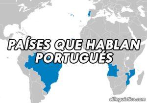 Países y regiones donde se habla portugués