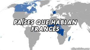 Países y territorios donde se habla francés
