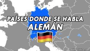 Países y regiones donde se habla alemán