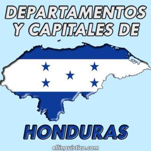Departamentos y cabeceras de Honduras