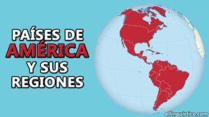 Países y regiones/subdivisiones de América