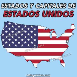 Estados y capitales de Estados Unidos
