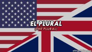 Así se forma el plural en inglés