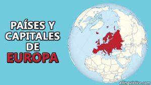 Países y capitales de Europa